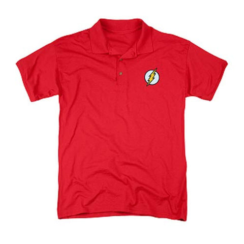The Flash Embroidered Flash Patch Polo T-Shirt