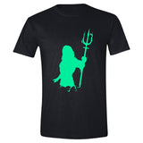 Aquaman - Silhouette Men T-Shirt - Black