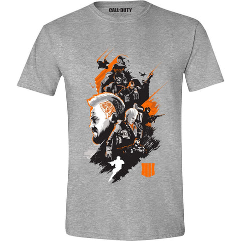 Call of Duty Black Ops 4 Characters Montage T-Shirt