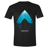 Aquaman - Ocean Logo Men T-Shirt - Black