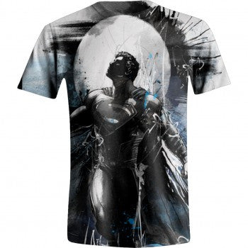 DC Superman Art Full White Printed Men