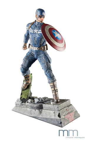Captain America Winter Soldier Statue