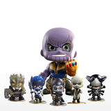 Cosbaby Avengers: Infinity War Thanos and Black Order Vinyl Figure (Set of 6)