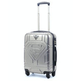 Luggage Bag Superman Silver