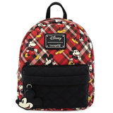 Loungefly Mickey Mouse Twill Mini Backpack (Preorder)