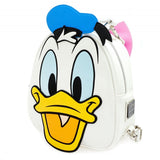 Loungefly Donald Duck Backpack Daisy Reversible Mini Backpack