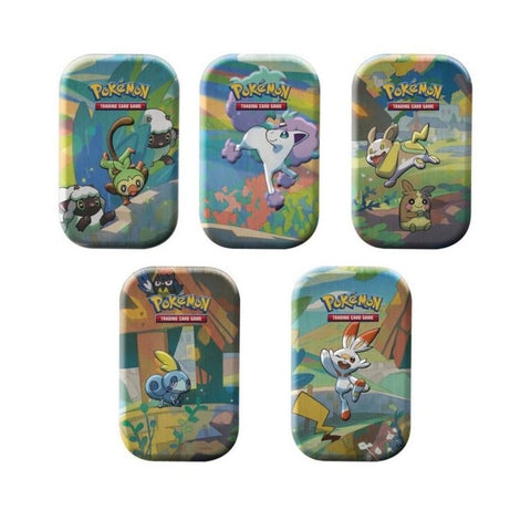 Pokemon TCG Galar Pals Mini Tin (Random 1 Piece)