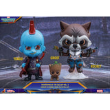 Hot Toys Cosbaby Gurdian Of The Galaxy 2 Groot-Rocket-Yondu Set Vinyl Figure