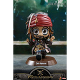 Hot Toys Cosbaby Pirates Of The Caribbean Dead Men Tell No Tales Jack Sparrow Vinyl Figure