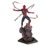 Marvel Avengers Infinity War Iron Spider Battle Diorama Statue