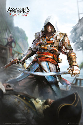 Assassin's Creed 4 Black Flag Poster