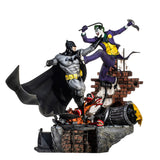 Batman vs The Joker Sixth Scale Diorama by Iron Studios (Preorder)