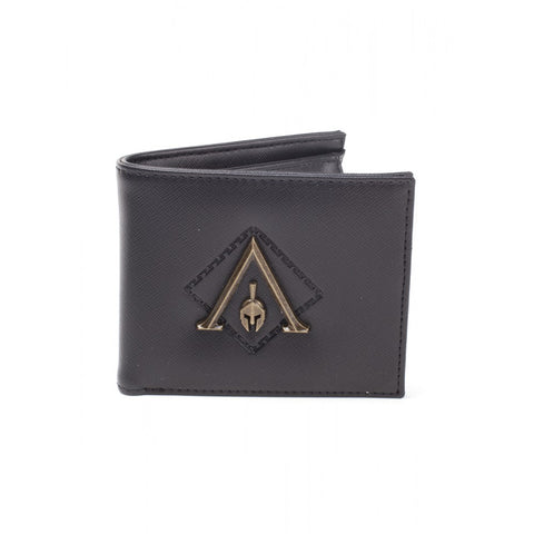 Assassin's Creed Odyssey Metal Logo Bifold Premium Wallet