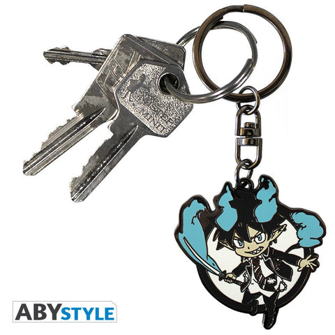 Blue Exorcist Rin Keychain