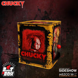 Burst a Box Scarred Chucky Collectible Figure