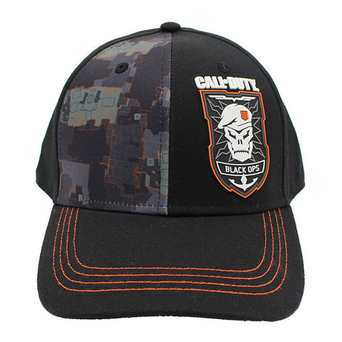 Call of Duty Black Ops 4 Camo Curved Bill Snapback