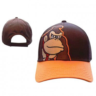 Nintendo - Brown Donkey Adjustable Cap