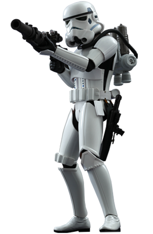 Hot Toys Star Wars: Episode IV A New Hope Spacetrooper 1/6th Scale Collectible Figure