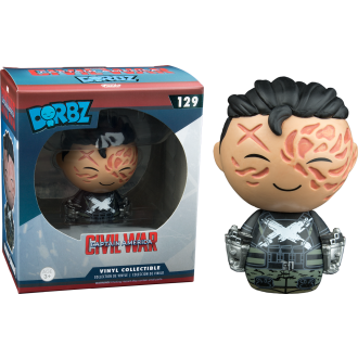 Civil War Crossbones Unmasked Dorbz Vinyl