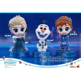 Disney Hot Toys Elsa, Anna & Olaf Cosbaby Collectible Set