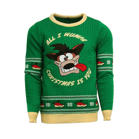 Crash Bandicoot Official Christmas Jumper