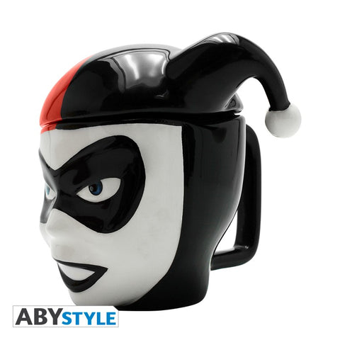 ABYstyle DC Comics Harley Quinn 3D Shaped Mug