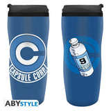 ABYstyle Dragon Ball Z Capsule Corp Travel Mug