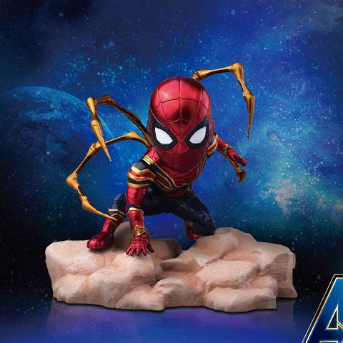 Beast Kingdom Iron Spider Avengers Infinity war egg Attack Statue