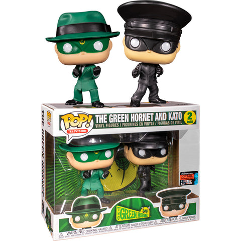 Funko POP! Green Hornet & Kato Fall Convention Exclusive Vinyl Figure