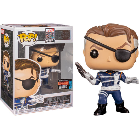 Funko POP! Nick Fury First Appearance Fall Convention Exclusive Vinyl Figure