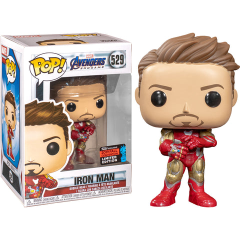 Funko POP! Iron Man with Nano Gauntlet Fall Convention Exclusive Vinyl Figure