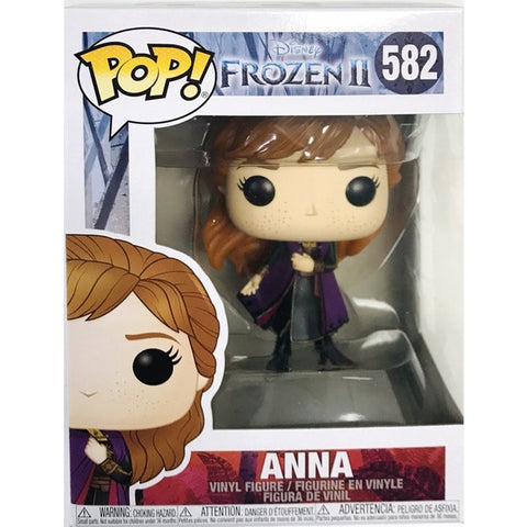 Funko POP! Frozen 2 Anna Cloak Travel Vinyl Figure