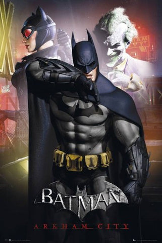 Batman Arkham City Main Poster