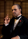 Godfather Don Vito Corleone Cinemaquette Statue