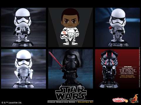 Cosbaby Star Wars The Force Awakens Series 1 Complete Set