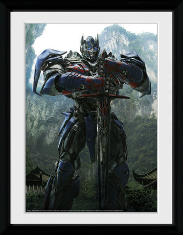 Transformers Four Optimus Teaser Print Portrait