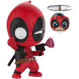 Cosbaby Deadpool And Headpool Collectible Vinyl Set