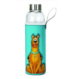 Scooby-Doo Glass Water Bottle with Neoprene Sleeve