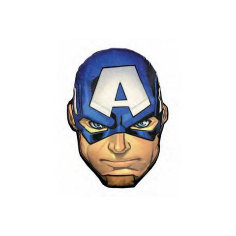 Captain America Head Shape LED Cushion