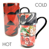 JUSTICE LEAGUE HEAT CHANGING LATTE MUG