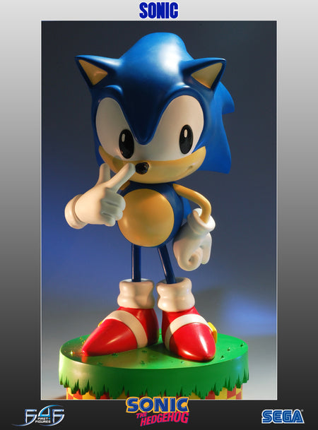 classic sonic the hedgehog sonic statue geek nation
