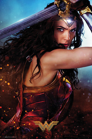 Wonder Woman Defend Maxi Poster