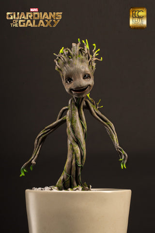 Guardians of the Galaxy Little Groot Statue