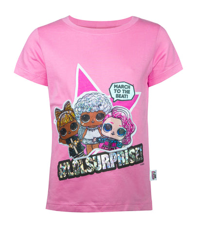 LOL Surprise! March to the Beat Girls T-Shirt