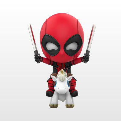 Cosbaby Deadpool 2 Unicorn Riding Version Vinyl Figure