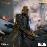 Far From Home: Nick Fury Battle Diorama Series Statue