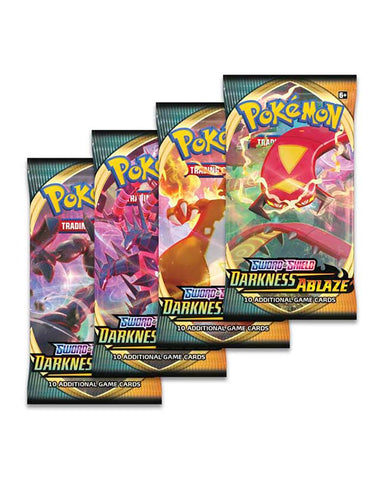Pokémon TCG: Sword & Shield-Darkness Ablaze Booster (Assorted 1 Piece)