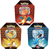 Pokemon Hidden Fates Tin (Assorted 1 Piece)