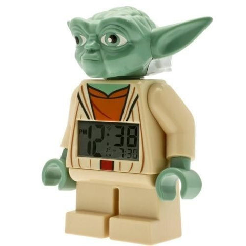 Lego Mini Figure Clock Yoda