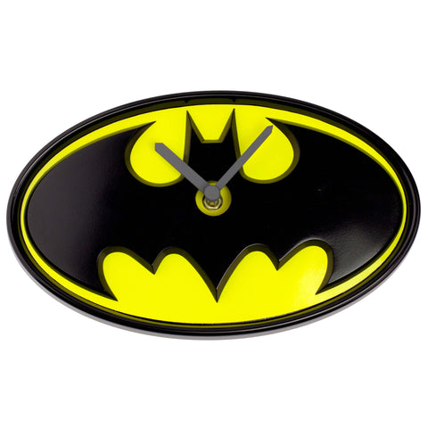 Batman Logo Wobble Wall Clock